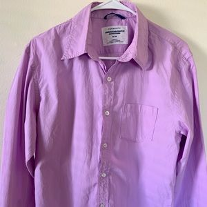 Men's American Eagle Sz M Purple Button Down